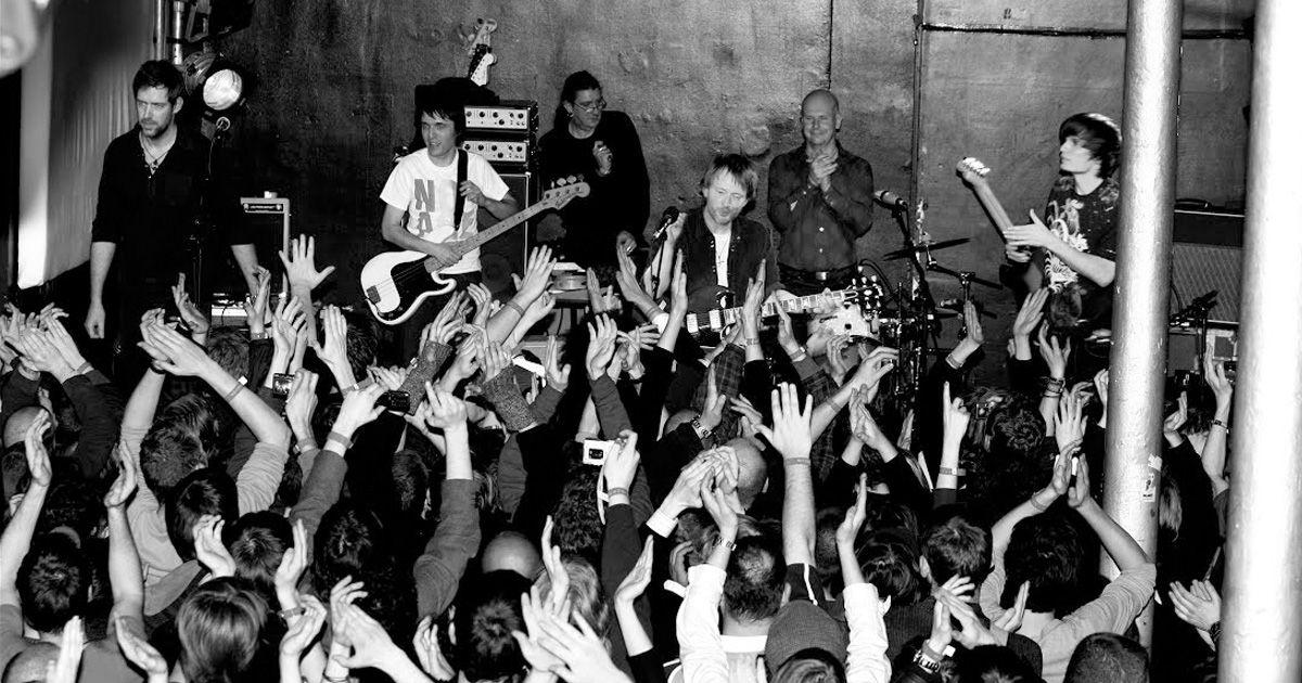 Radiohead ปล่อยวีดีโอคอนเสิร์ต Live From 93 Feet East ลงทาง YouTube